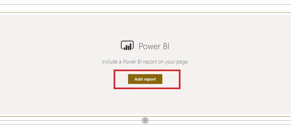 Embed PowerBI Report into SharePoint Step 8